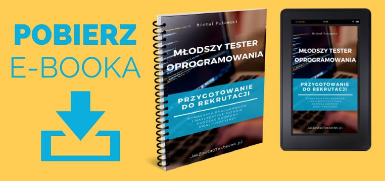 Młodszy tester oprogramowania e-book PDF