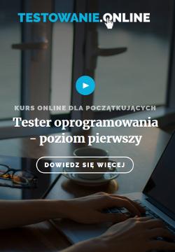 Tester oprogramowania - szkolenie online