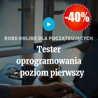 Kurs online - tester oprogramowania